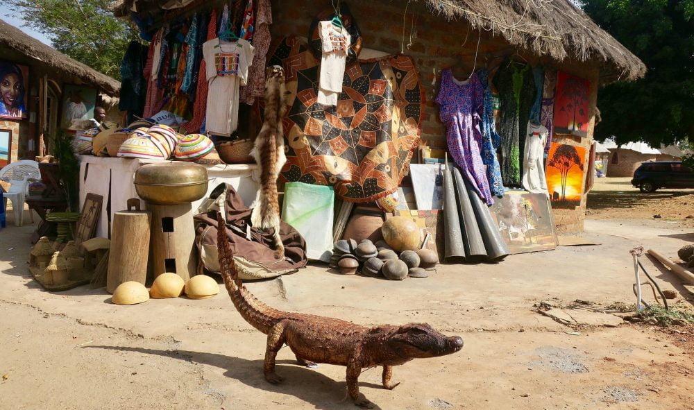 lizzard-art-abuja-village