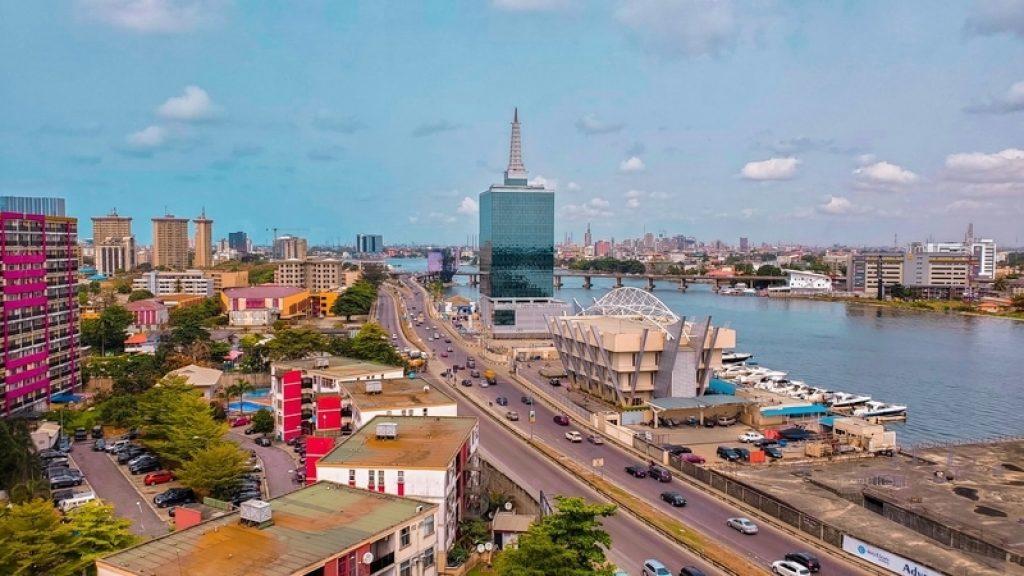 civic-towers-next-to-roads-lagos-nigeria
